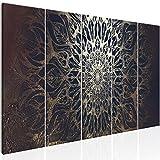 murando Impression sur Toile intissee Mandala 200x80 cm 5 Pieces Tableau Tableaux...