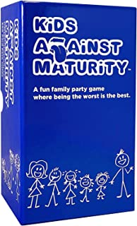 Kids Against Maturity: Card Game for Kids and Families, Super Fun Hilarious for Family..