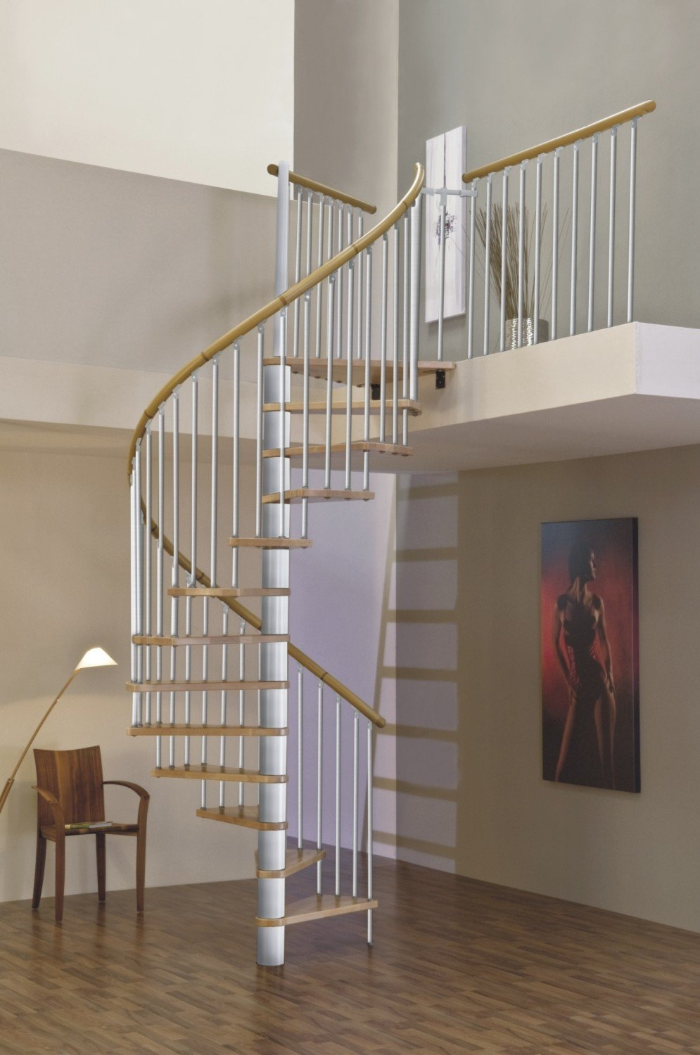 Spiral Staircase Stairs Stairs Indoor Space Saving Staircase | Space Saving Spiral Staircase | Kid Friendly | Iron | Design | Mini | Roof Access