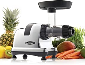 Omega J8008C Juicer Extractor and Nutrition Center Creates Fruit Vegetable and Wheatgrass..