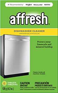 Affresh W10549851 Dishwasher Cleaner | Formulated to Clean Inside All Machine Models, 6..