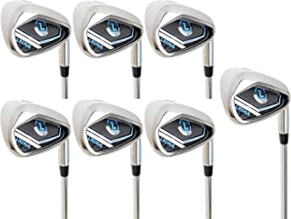 LAZRUS Premium Golf Irons Individual or Golf Irons Set for Men (4,5,6,7,8,9,PW) or Driving Irons (2&3) Right or Left Hand ...