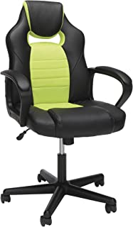 OFM Essentials Collection Racing Style Gaming Chair, in Green