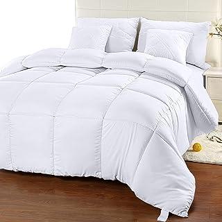 Utopia Bedding Comforter Duvet Insert – Quilted Comforter with Corner Tabs –..