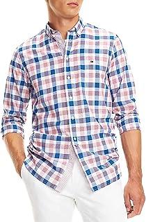 Tommy Hilfiger Camisa Slim Grid Check Hombre