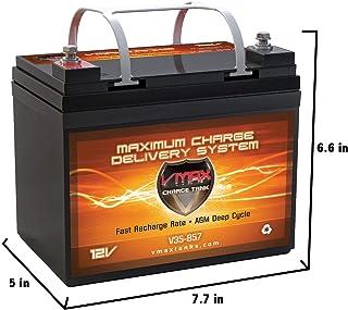 VMAXTANKS VMAX V35-857 12 Volt 35AH AGM Battery Marine Deep Cycle HI Performance Battery..
