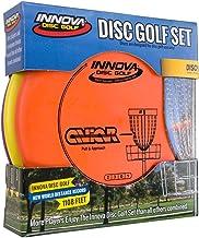 Innova Disc Golf Set – Driver, Mid-Range & Putter, Comfortable DX Plastic, Colors..