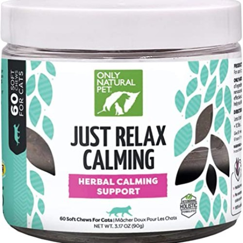 Herbal Calming Support Chews for Cats