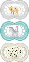 MAM Day and Night Pacifier Value Pack (2 Day + 1 Night Pacifier), MAM Pacifiers 6 Plus..