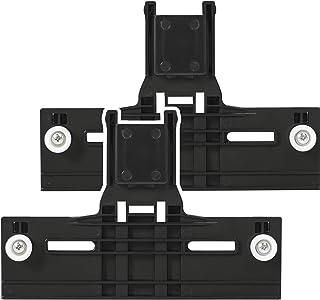 "[Upgraded] W10350376 Dishwasher Top Rack Adjuster 0.9"" Diameter Wheels with STEEL.."