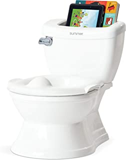Summer My Size Potty with Transition Ring & Storage, White – Realistic Potty..