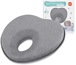 Baby Pillow for Newborn Infant(0-12months),Flat Head Prevention 3D Memory Foam Can..