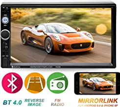 Double Din Car Stereo in-Dash Head Unit Compatible with Bluetooth 7 inch Touch Screen..