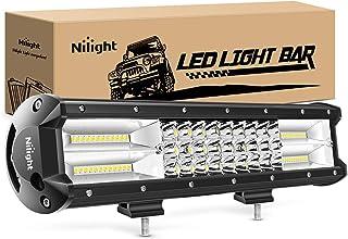 Nilight – 18003C-A 15Inch Triple Row Lights 216W 21600LM Flood Spot Combo Beam LED..