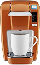 Keurig K15 Coffee Maker, Single Serve K-Cup Pod Coffee Brewer, 6 to 10 oz. Brew Sizes, Burnt Orange