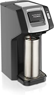 Hamilton Beach FlexBrew Single Serve Coffee Maker, Compatible with K-Cup Pods and..