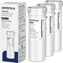 XWF Water Filter for GE Refrigerator, Crystala Filters NSF 42 Certified Compatible with..