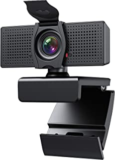 Webcam with Microphone Webcams Privacy Cover hd 1080p for Gaming conferencing Meeting..
