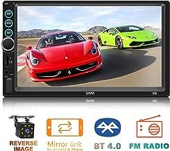 7 inch Touch Screen MP5 Player Double Din in-Dash Head Unit Car Stereo Car Radio FM Radio..