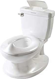 Summer Infant My Size Potty, White – Realistic Potty Training Toilet Looks and Feels..