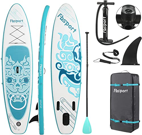 FBSPORT Planche de Sup Gonflable, Stand up Paddle Gonflable PVC Aluminium, Planche de Paddle Gonflable,Planche Double...