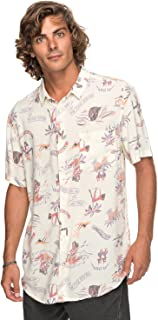 Quiksilver Aloha Strip Club - Camisa de Manga Corta para Hombre EQYWT03646