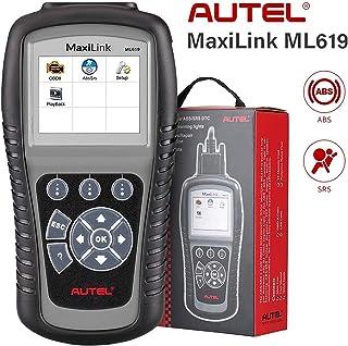 Autel ABS SRS OBD2 Scanner, Autel Scanner Maxilink ML619, Upgraded Version of AL619,..