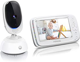 Motorola Comfort75 Video Baby Monitor – Infant Wireless Camera with Remote Pan,..