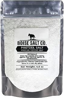 Boise Salt Co. Pretzel Salt – 4 Ounce Resealable Standup Pouch (4 oz)