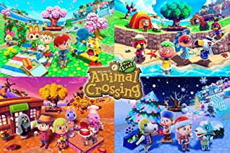 Pyramid America Officially Licensed Animal Crossing New Horizons Nintendo Switch New Leaf..