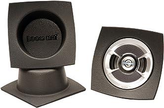 "Design Engineering 050330 Boom Mat Speaker Baffles, 6.5"" Round (Pack of 2)"