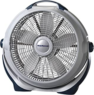 Lasko 3300 Wind Machine Air Circulator Portable High Velocity Floor Fans, for Indoor Home..