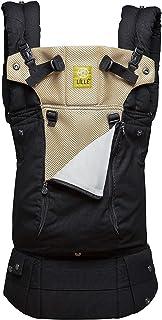LÍLLÉbaby Complete All Seasons Six-Position 360° Ergonomic Baby and Child Carrier, Black/Camel