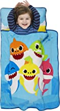 Baby Shark Toddler Nap Mat – Includes Pillow and Fleece Blanket – Great for Boys..