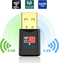 Blueshadow USB WiFi Adapter – Dual Band 2.4G/5G Mini Wi-fi ac Wireless Network Card..