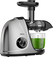 Juicer Machines, Jocuu Slow Masticating Juicer Extractor, Cold Press Juicer with Two..