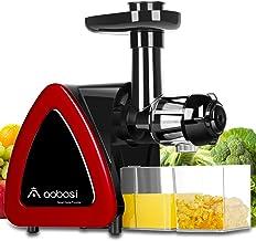 Aobosi Slow Masticating juicer Extractor, Cold Press Juicer Machine, Quiet Motor, Reverse..