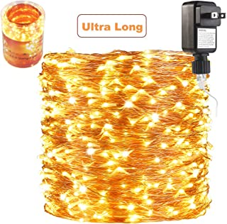 ZAECANY 165 Ft Ultra Long 500 LEDs LED String Lights Plug in, Waterproof..