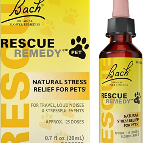 Bach RESCUE REMEDY PET, Natural Stress and Tension Relief