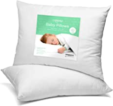 [2-Pack] Celeep Baby Pillow Set – 13 x 18 Inches Organic Toddler Bedding Small..