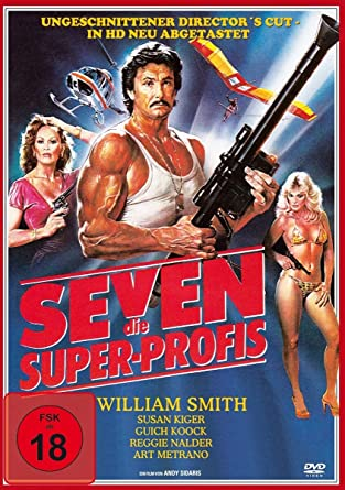 SEVEN - Die Super-Profis (Ungeschnittener Director`s Cut, in HD neu abgetastet)