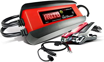 Schumacher SP1297 3 Amp 6V/12V Fully Automatic Smart Battery Charger Maintainer and Auto..