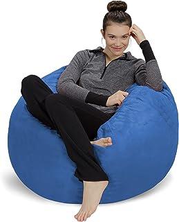 Sofa Sack – Plush, Ultra Soft Bean Bag Chair – Memory Foam Bean Bag Chair..