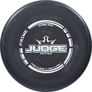 Dynamic Discs Prime Judge Disc Golf Putter | 170g Plus | Throwing Frisbee Golf Putter |..
