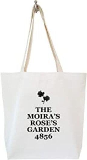 Moiras Roses Garden 4856 Schitts Creek Grocery Bag Calico Tote Bag Schitts Creek Gifts