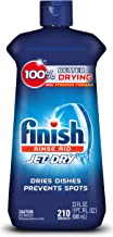 Finish Jet-Dry Aid, 23oz, Dishwasher Rinse Agent & Drying Agent, 23 Fl Oz (Pack of..