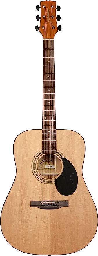 Amazon Com Jasmine S35 Acoustic Guitar Natural Musical Instruments