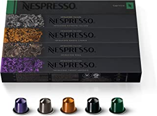 Nespresso Capsules OriginalLine,Ispirazione Best Seller Variety Pack, Medium & Dark..
