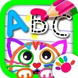 ABC Dessine! Jeux Educatifs de Dessiner Lettres le Alphabet Français GRATUIT!...