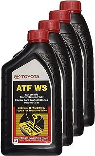 Toyota 00289-ATFWS Lexus & Automatic Transmission Fluid WS ATF World Standard, Pack of 4